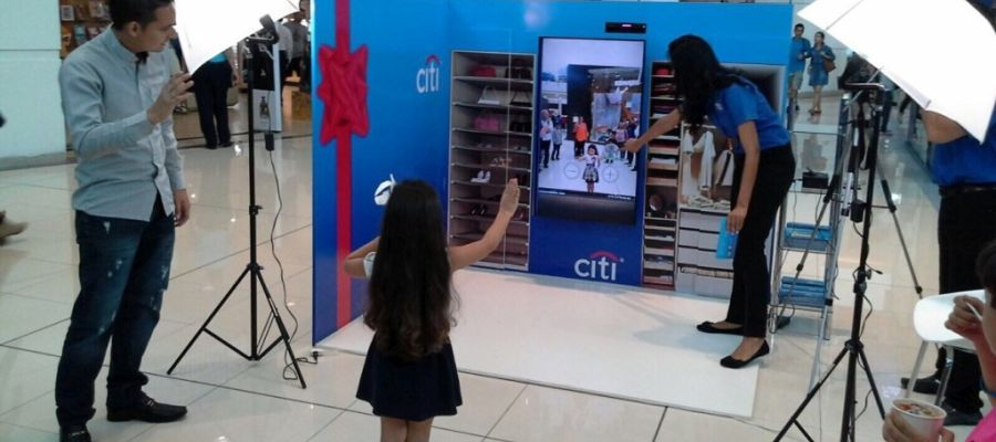 Citi Virtual Dressing Room Image