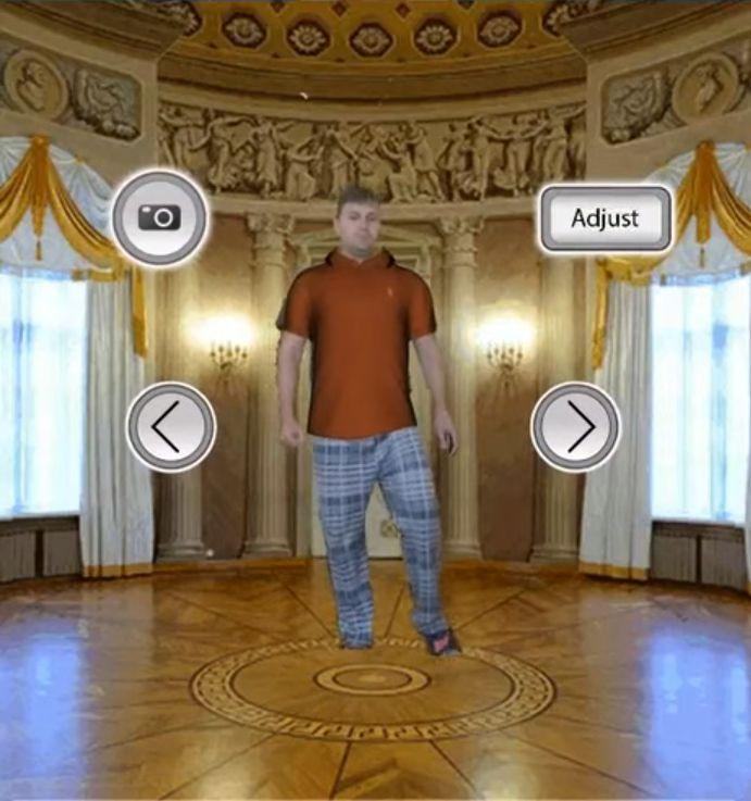WSS for Kiosks 3D Shirt Example 3