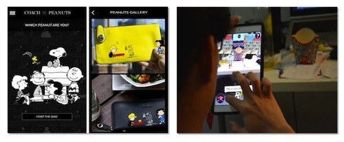 Coach and McDonald's Mobile Augmented Reality Examples