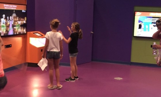 Crayola You Design Attraction with Virtual Dressing Room