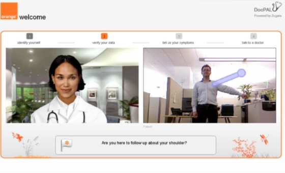 Orange Silicon Valley AR Telemedicine Prototype