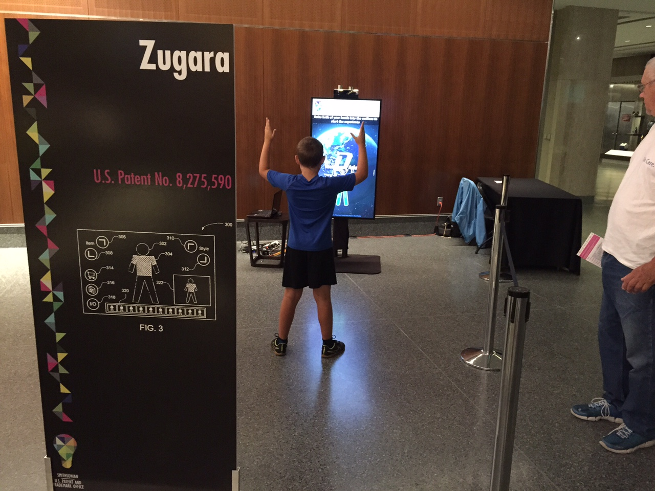 Zugara Augmented Reality Virtual Dressing Room Patent at Smithsonian