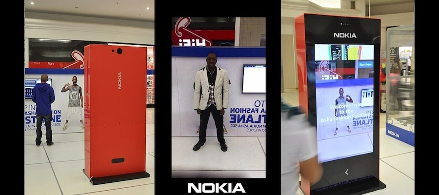 Zugara, Virtuelle and Nokia Debut Virtual Dressing Room Experience for South African Malls