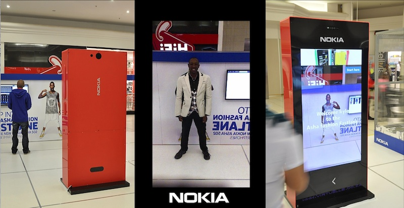 Nokia Virtual Dressing Room