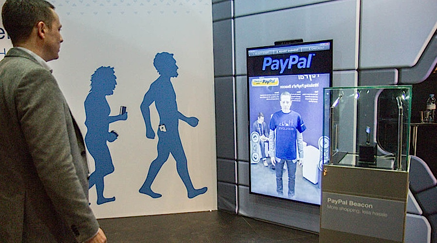 PayPal Beacon Virtual Dressing Room - WSS For Kiosks and Kinect
