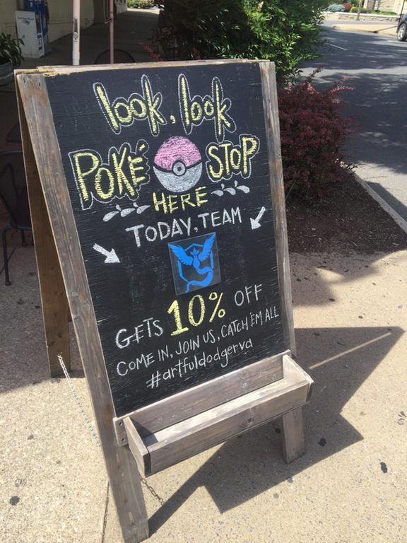 Pokemon Go Retail Promotion