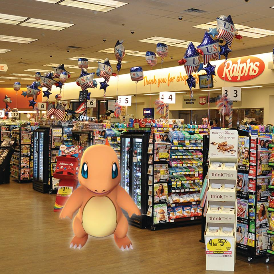 Ralph's Pokemon Go Augmented Reality Challenge