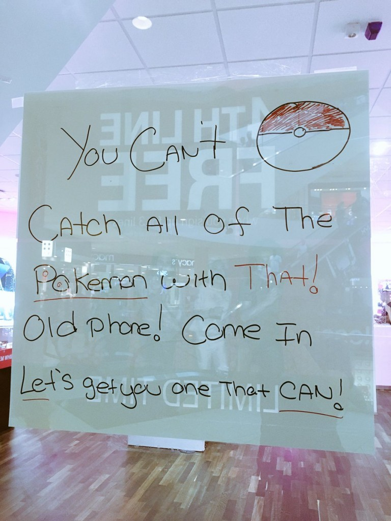 T-Mobile Pokemon Go Promotion