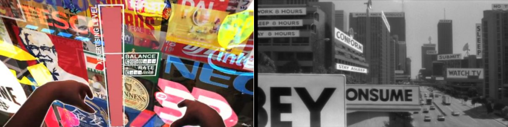 Augmented Reality - Location-based Advertising / Virtual Information