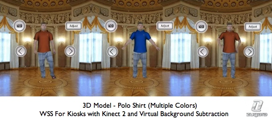 WSS for Kiosks 3D Model Example
