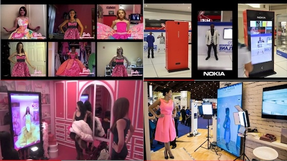 Zugara Virtual Dressing Room Technology Examples