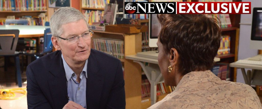 Apple CEO Favors Augmented Reality Over Virtual Reality