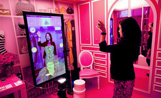 Virtual Dressing Room Technology